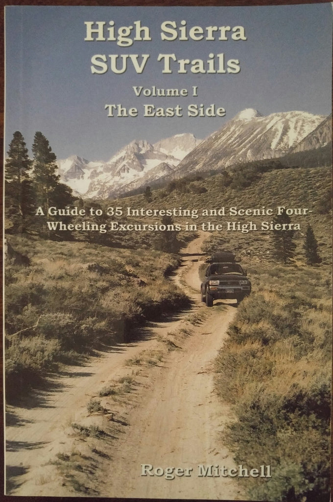 High Sierra SUV Trails: Volume 1-The East Side - Wide World Maps & MORE! - Book - Brand: Track and Trail - Wide World Maps & MORE!