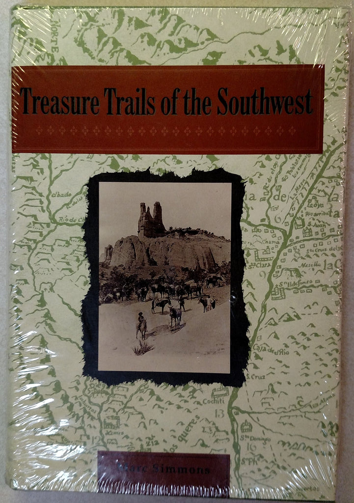 Treasure Trails of the Southwest - Wide World Maps & MORE! - Book - Brand: Univ of New Mexico Pr - Wide World Maps & MORE!