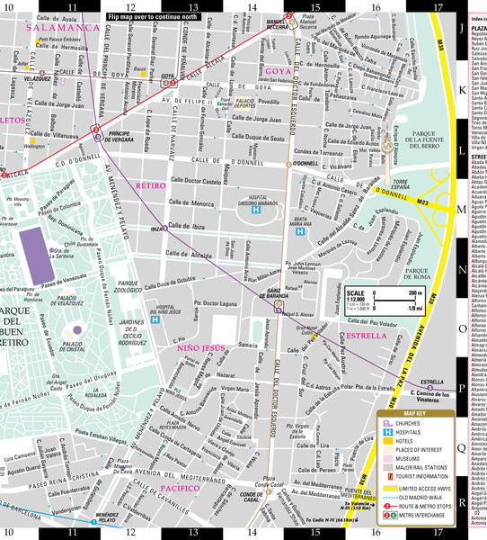 Streetwise Madrid Map - Laminated City Center Street Map of Madrid, Spain - Wide World Maps & MORE! - Book - StreetWise - Wide World Maps & MORE!