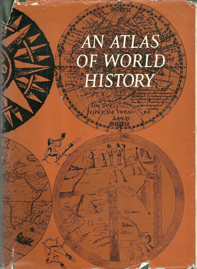 An Atlas of World History - Wide World Maps & MORE! - Book - Wide World Maps & MORE! - Wide World Maps & MORE!