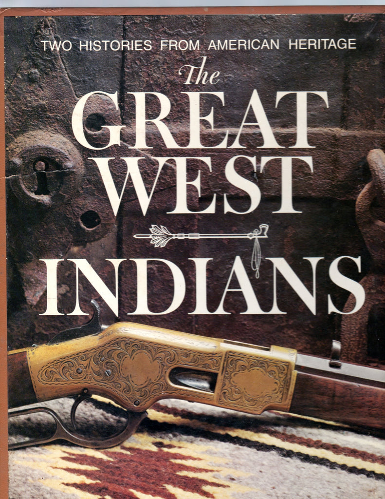 Two Histories From American Heritage: The Great West; Indians (2-Vol Box Set) - Wide World Maps & MORE! - Book - Wide World Maps & MORE! - Wide World Maps & MORE!