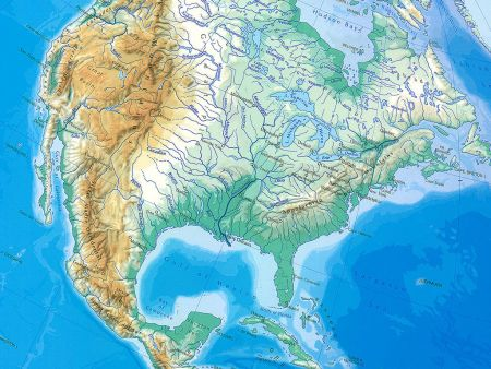 One World Wall Poster- Paper, Non-Laminated - Wide World Maps & MORE! - Map - Raven Maps & Images - Wide World Maps & MORE!