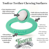Toofeze All-Natural Stainless Baby Teether
