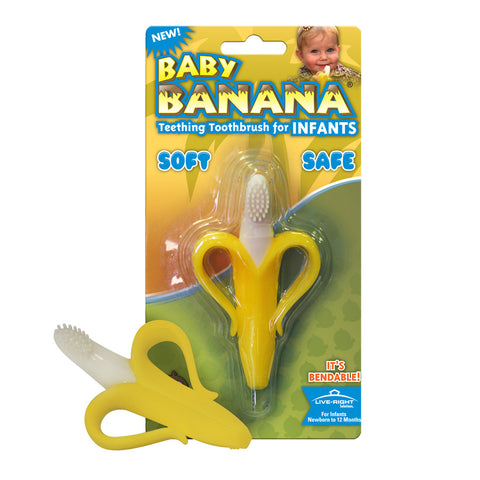 Baby Banana Brush - Infant Teething Toothbrush