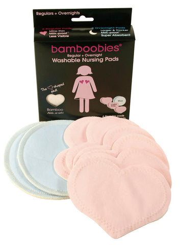 Bamboobies Multi-Pack of Washable Nursing Pads