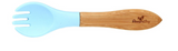 Avanchy Bamboo Baby Training Utensils - Single Fork or Spoon