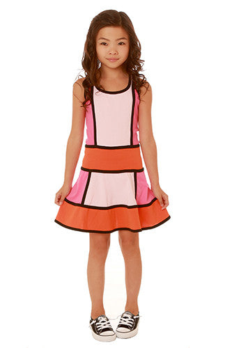 Ooh! La, La! Couture Colorblock Dress