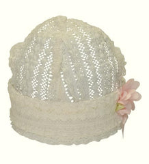 Baby Biscotti Be My Baby Lace Hat