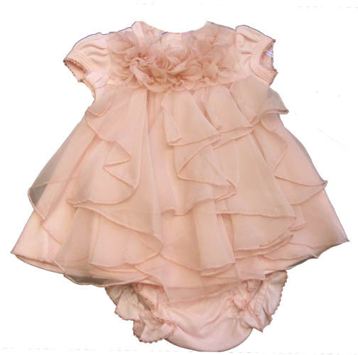 Baby Biscotti Beloved Roses Dress and Bloomers