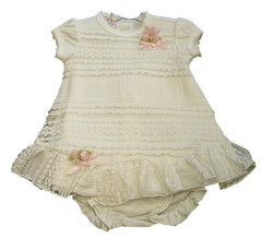Baby Biscotti Born Yesterday Dress Set