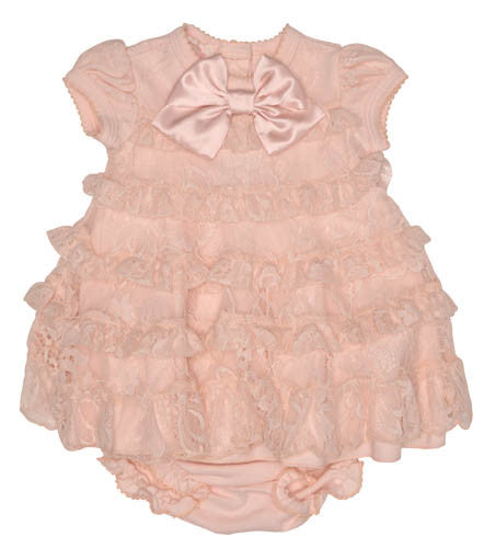 Baby Biscotti Heavenly Lace Dress and Panty Set