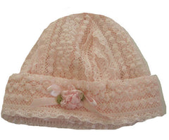 Baby Biscotti Precious in Lace Hat