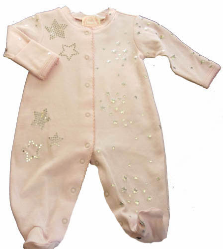 Baby Biscotti Tiny Twinkles Footie