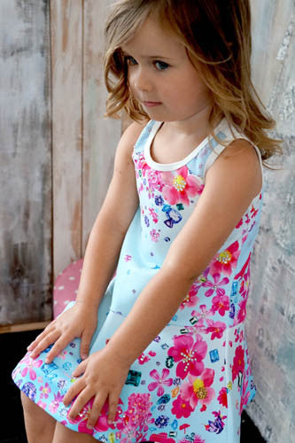 Baby Sara Flower Print Dress