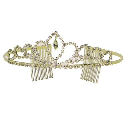 Biscotti Royal Treatment Tiara in Gold or Silver