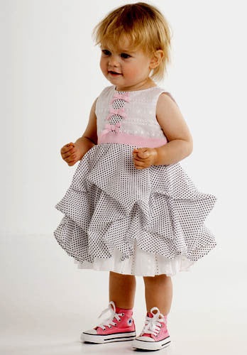 Biscotti Prints Charming Baby Dress
