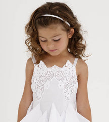 Biscotti Summer Whites White Dress