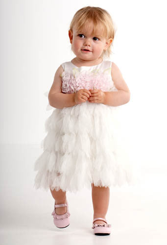 Biscotti Wedding Belles Baby Dress