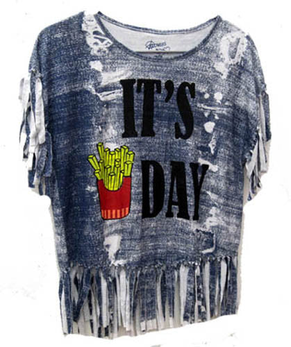 Flowers by Zoe It's FryDay Tee