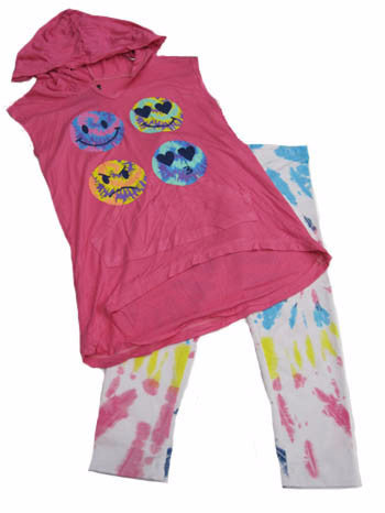 Flowers by Zoe Emoji Hoodie & Leggings