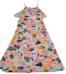 Flowers by Zoe Hawaiian Print Maxi Dress