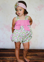 Giggle Moon Lily of the Valley Betty Bubble Romper