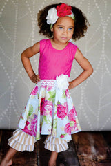 Giggle Moon Living Water Lilly Dress with Capri Leggings