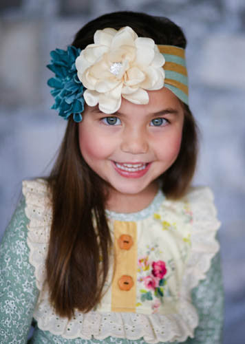 Giggle Moon Sea of Glass Knit Headband