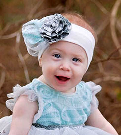 Haute Baby Elsa's Magic Headband