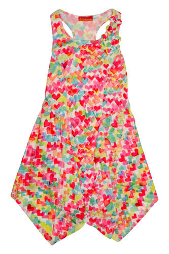 Kate Mack Love is in the Air Racerback Knit Dress