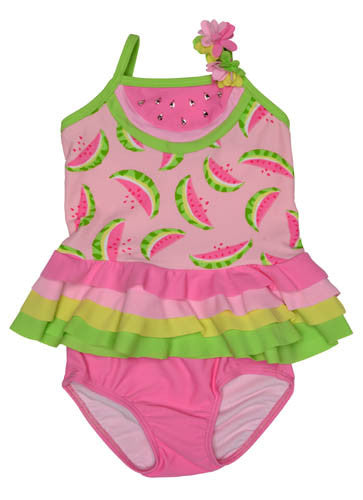 Kate Mack Wild Watermelon Skirted Swimsuit