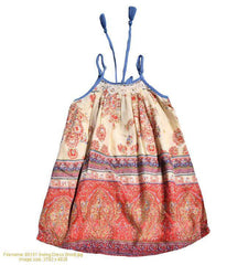 Mimi & Maggie Tuscan  Village Swing Dress