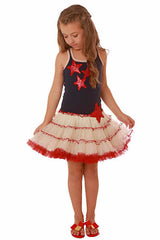 Ooh! La, La! Couture Sequin Stars 4th of July Poufy Dress