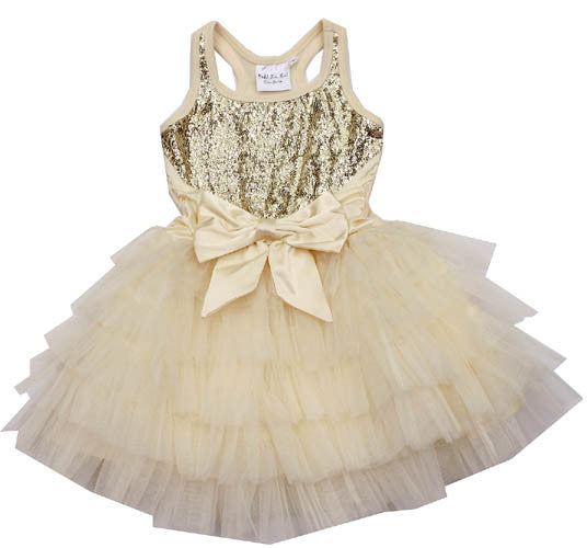 Ooh! La, La! Couture Champagne Anneliese Dress