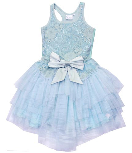 Ooh! La, La! Couture Sky Blue WOW Ava Dress