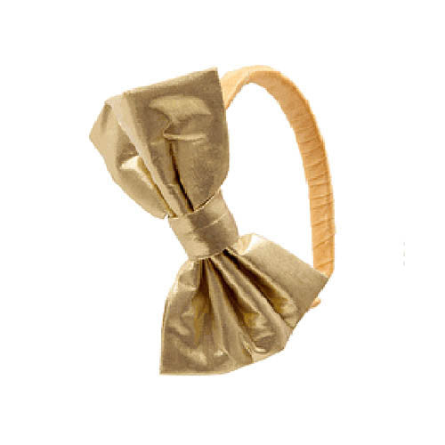 Ooh! La, La! Couture Gold Bow Headband