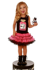 Ooh! La, La! Couture Black/Candy Pink Perfume Birthday Dress