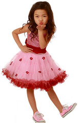Ooh! La, La! Couture Pink Lady Lips WOW Pouf Dress