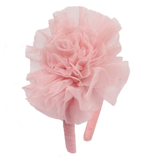 Ooh! La, La! Couture Resort Pink Parfait Tulle Flower Headband