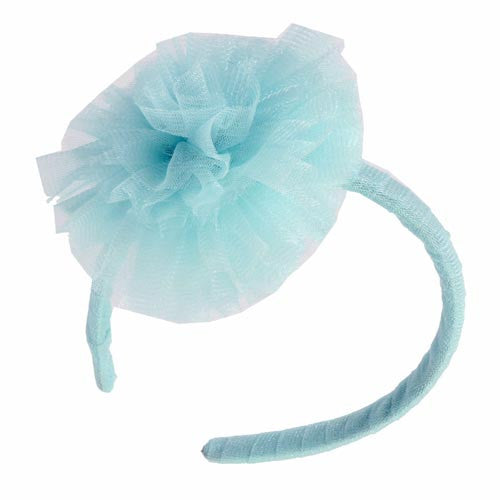 Ooh! La, La! Couture Sky Blue Flower Headband