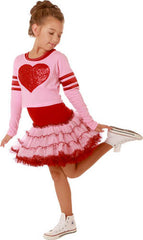 Ooh! La, La! Couture Valentine 2Fer Dress