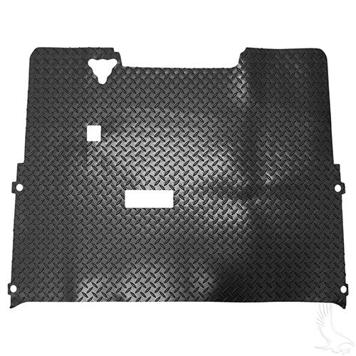 Floor Mat, Diamond Plate Rubber, E-Z-Go TXT 94-01 1/2