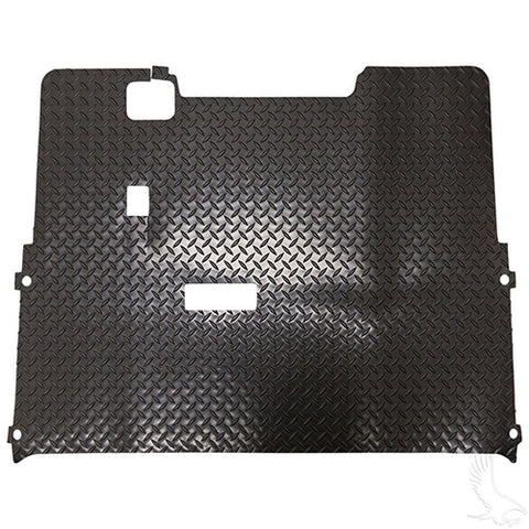 Floor Mat, Diamond Plate Rubber, E-Z-Go TXT 01 1/2+