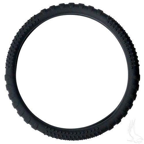 Steering Wheel Cover, Rubber Universal, Black