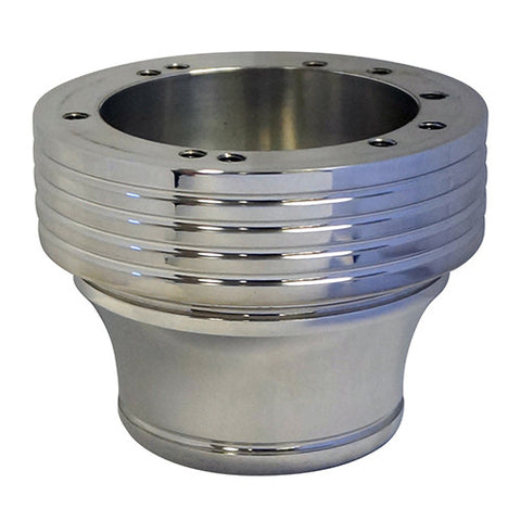 Adapter, Billet Polished with Grooves, Club Car DS 84+