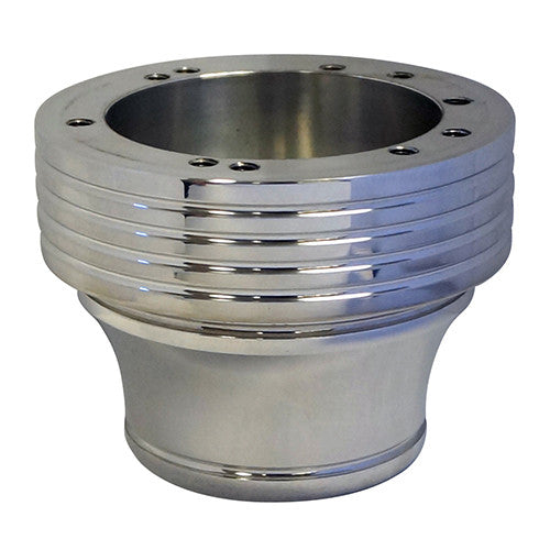 Adapter, Billet Polished with Grooves, Yamaha