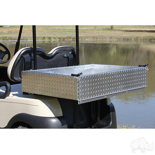 Kit - Aluminum Utility Box w/ Mounting Kit, Club Car Precedent