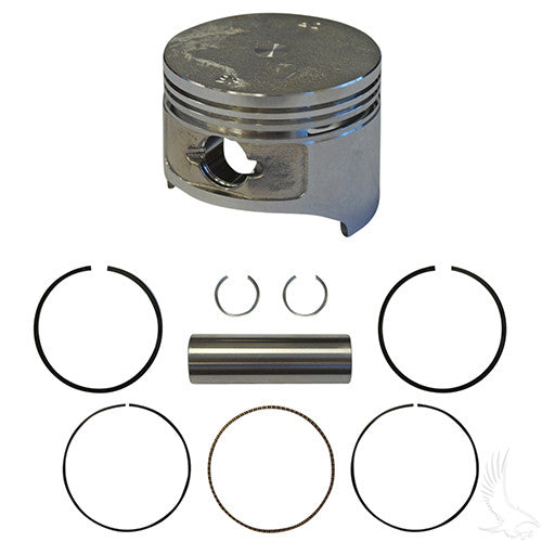 Piston and Ring Set, Standard Size, E-Z-Go 4-cycle Gas 91+ 295cc only