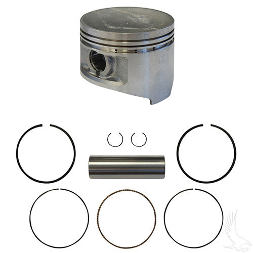 Piston and Ring Assembly, Standard, Club Car DS, Precedent 92+