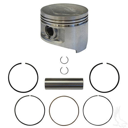 Piston and Ring Assembly, +.25mm, Club Car DS, Precedent 92+